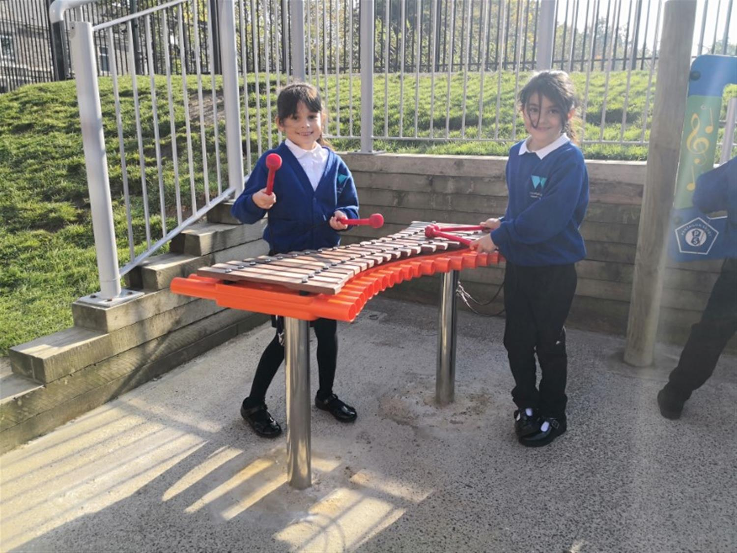 Outdoor Musical Instruments For Primary School Playgrounds