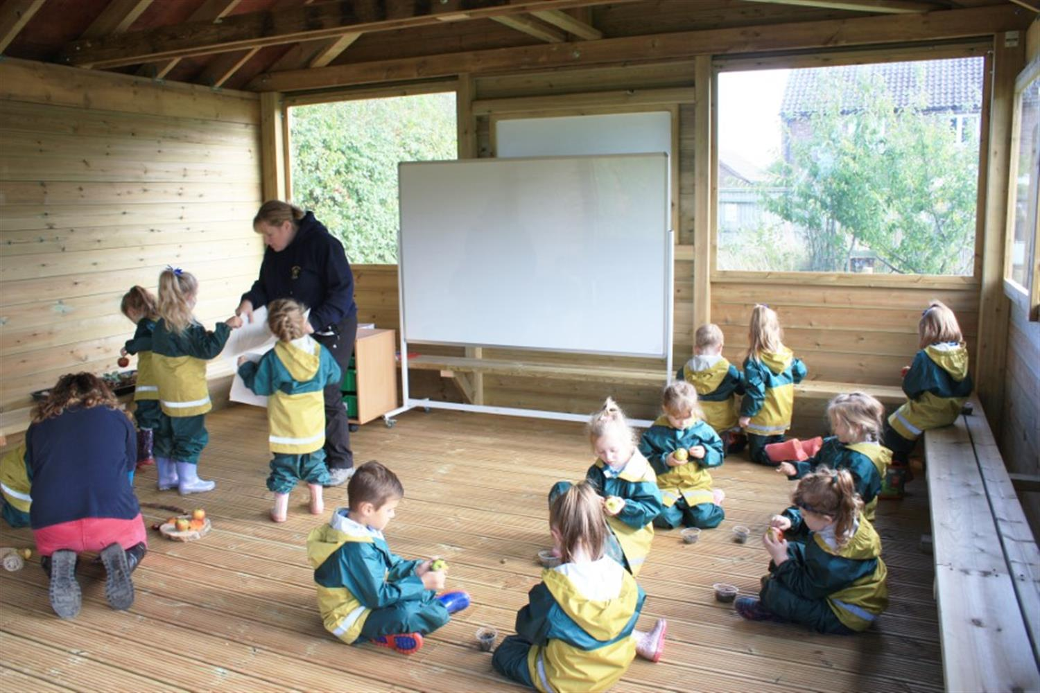Outdoor Classrooms for Forest Schoolws