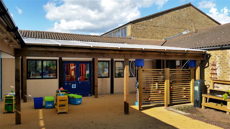 EYFS Playground Canopy