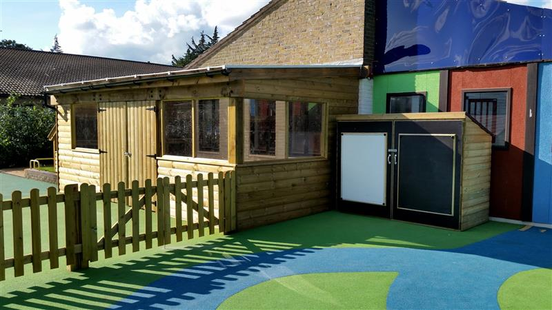 Dairy Meadow Primary School's Early Years Playground