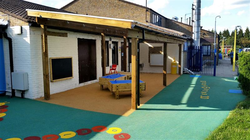 Free Flow Playground Canopy for EYFS