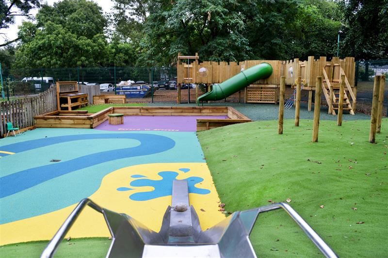 school eyfs playground environment