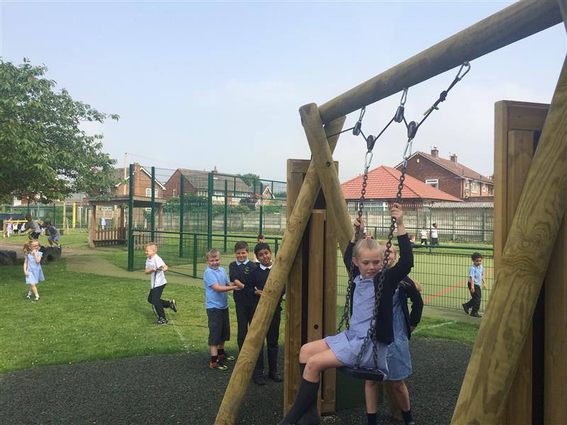 Swing Scientific Playground Experiment
