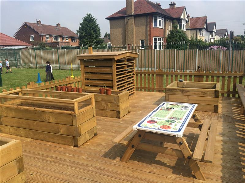 wildlife area for school playgrounds