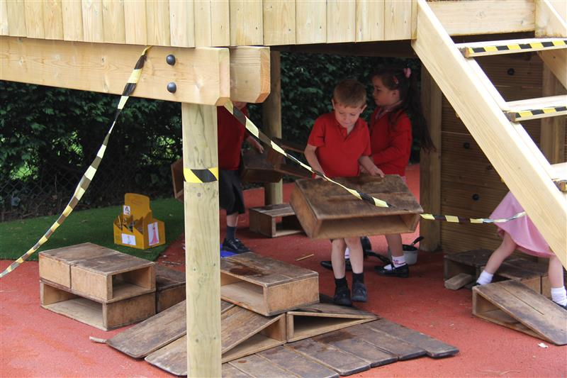 Den-Making - Outdoor Play Castle