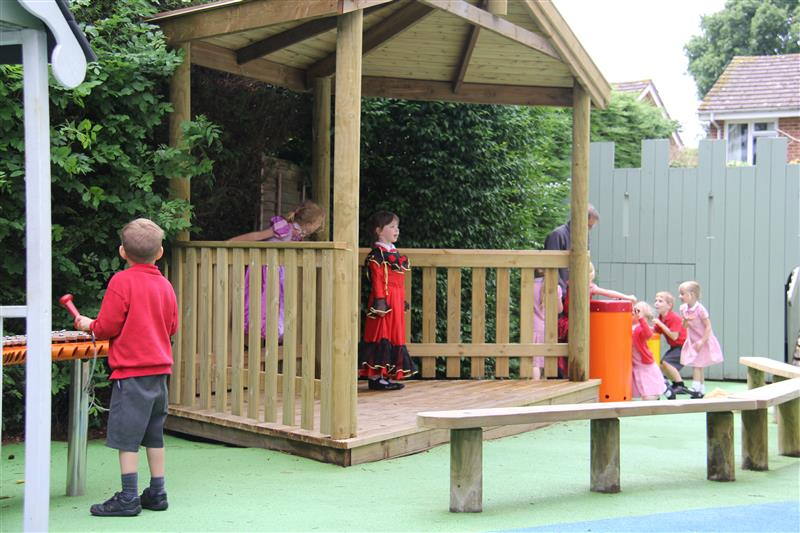 Outdoor Performance Stage - Early Years