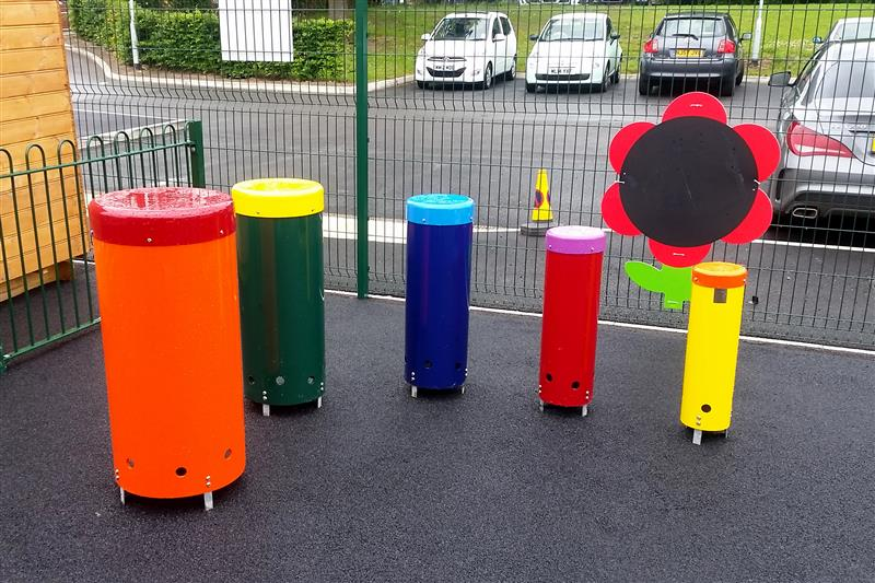 Musical play equipment for children with special educational needs