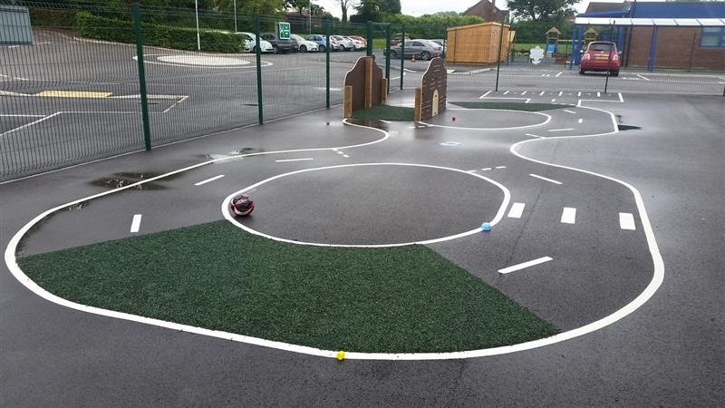 Playground Markings ideal for children with special educational needs