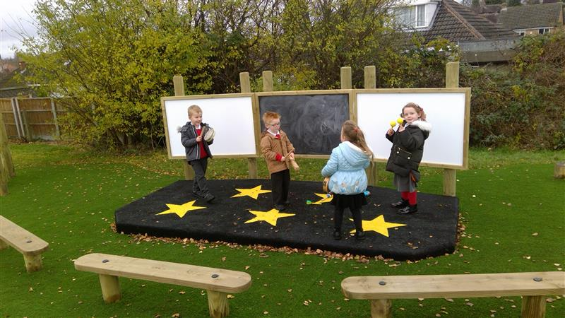 Cherry Tree Hill Primary S Eyfs Play Space Pentagon Play