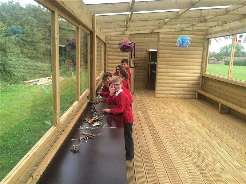 Outdoor Lab for Forest School - Heage Primary School