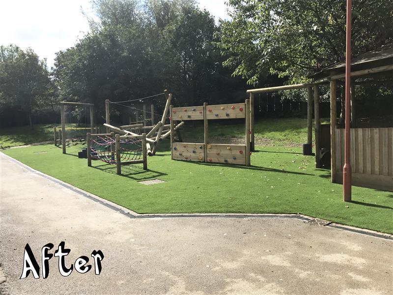 Playground at Wheatfield Primary