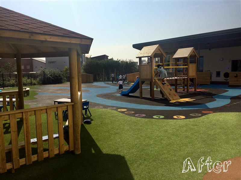 Ashbury Meadow School's Early Years Playground