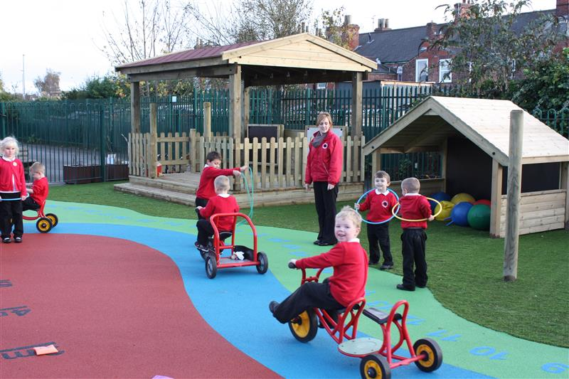 Carlton Road - Outdoor Playground Development