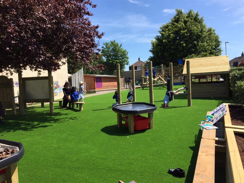 St Teresa S Bristol Eyfs Playground Pentagon Play