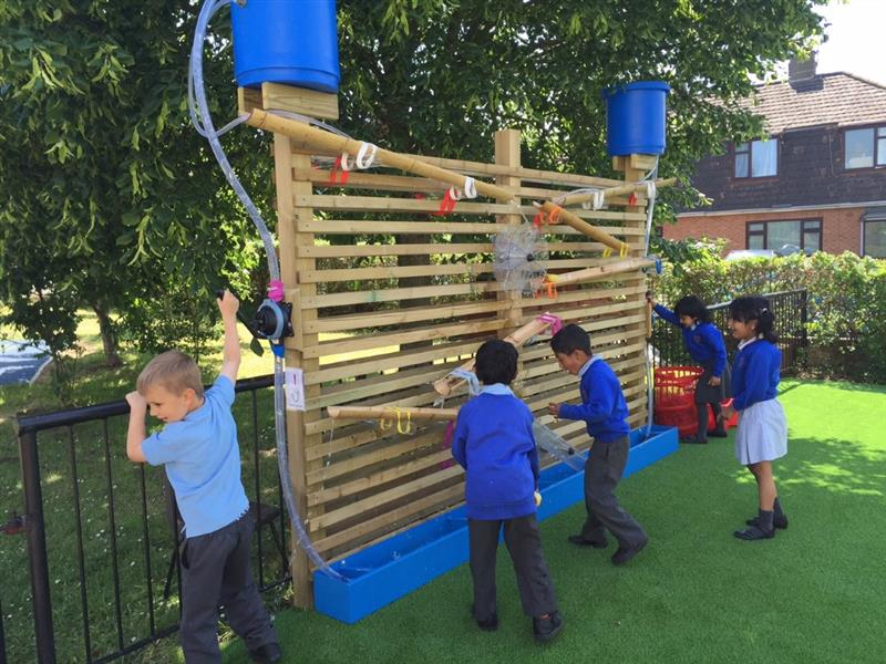 Water Wall - EYFS Playground Equooment