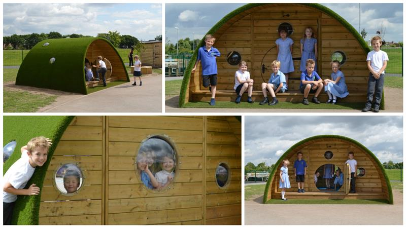 Hobbit Playhouse for School Playgrounds