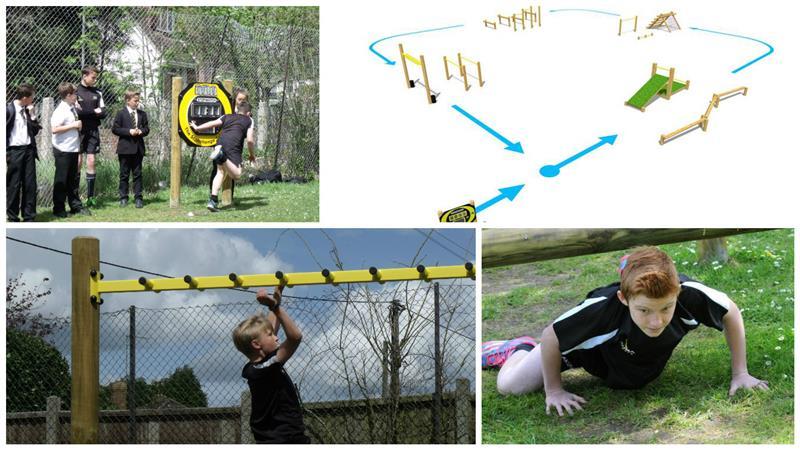 Active School Playground Equipment