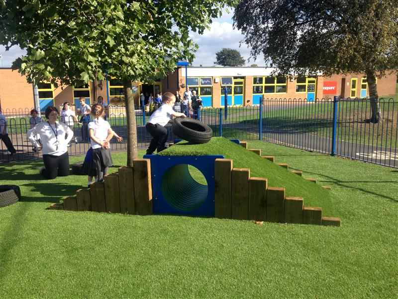 outdoor school play equipment