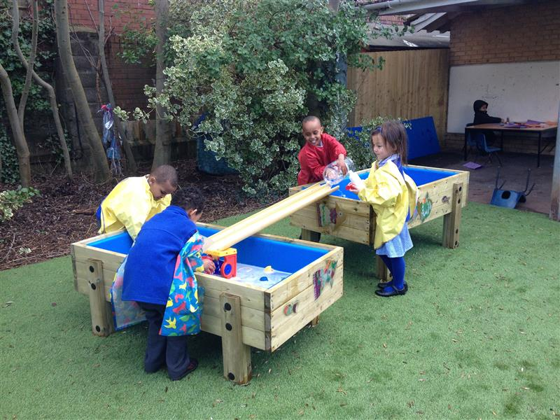 outdoor water table early years