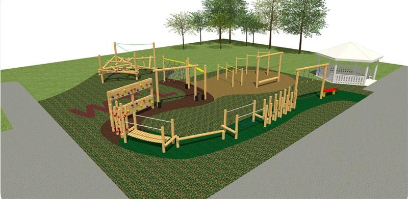 West Town Lane Ninja Warrior Design Plan