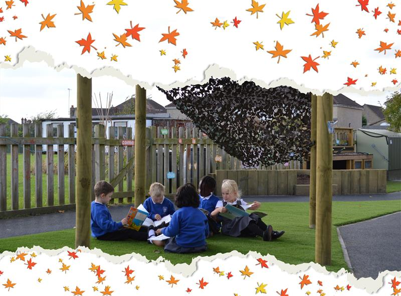 den-making in the playground