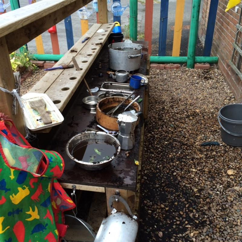Didsbury Road Primary School - Mud Kitchen