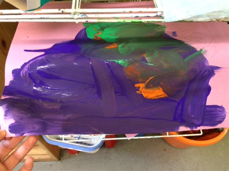 Didsbury Road Primary School - EYFS Painting