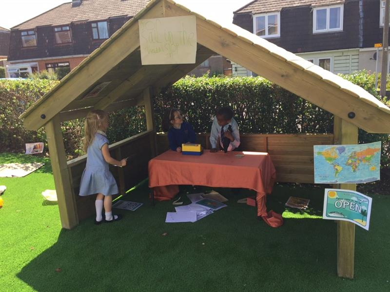 Early Years Playhouse for themed play