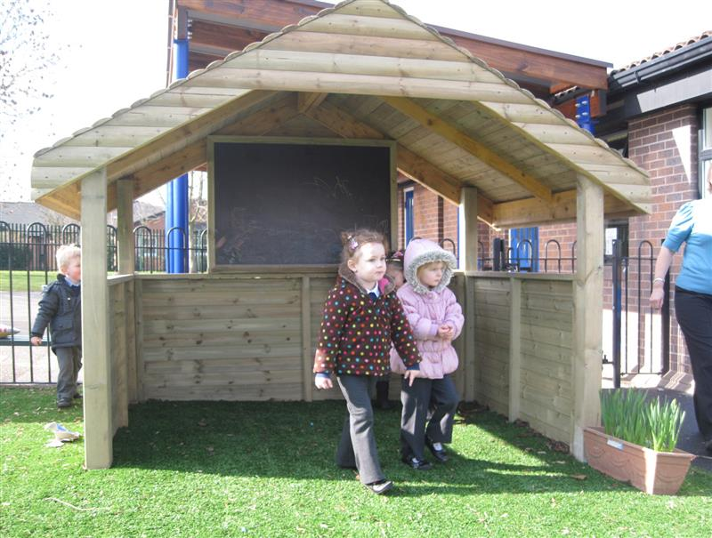Playhouse - ideal for outdoor play for early years