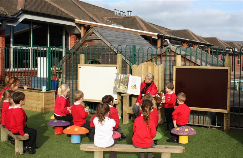 Story Telling Circle - Early Years Playground