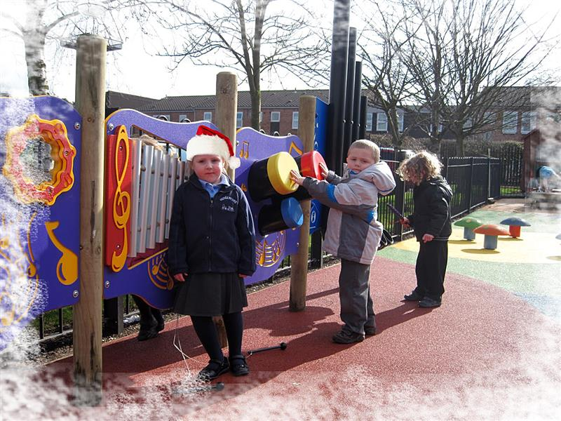 Christmas - Outdoor Musical Play equipment