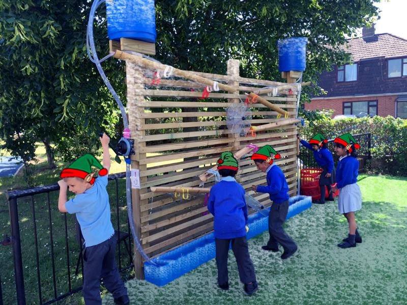 Christmas Outdoor Equipment - Water Wall