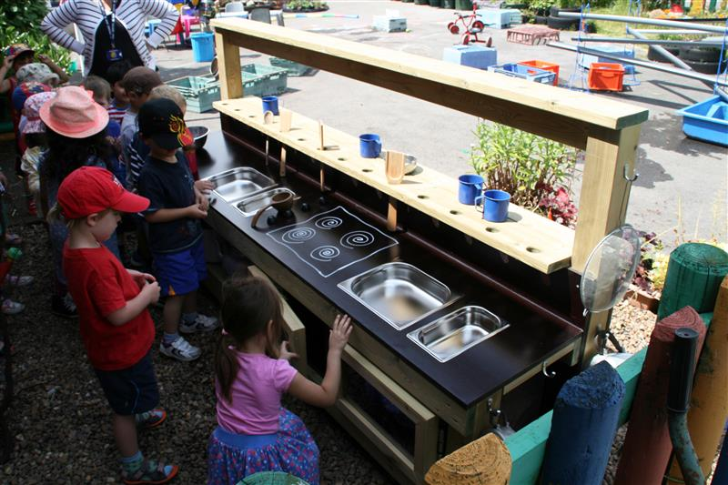 Mud Kitchen for children with special educational needs! SEN play equipment