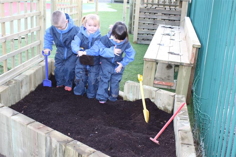 Natural Play Equipment for children with special educational needs