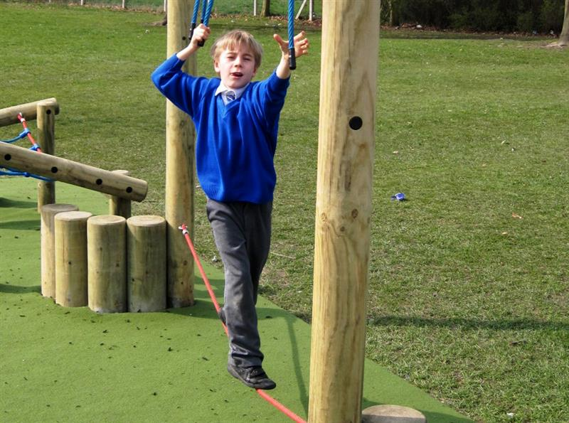 Trim trails  - ideal for Heavy Work Activities for special needs children