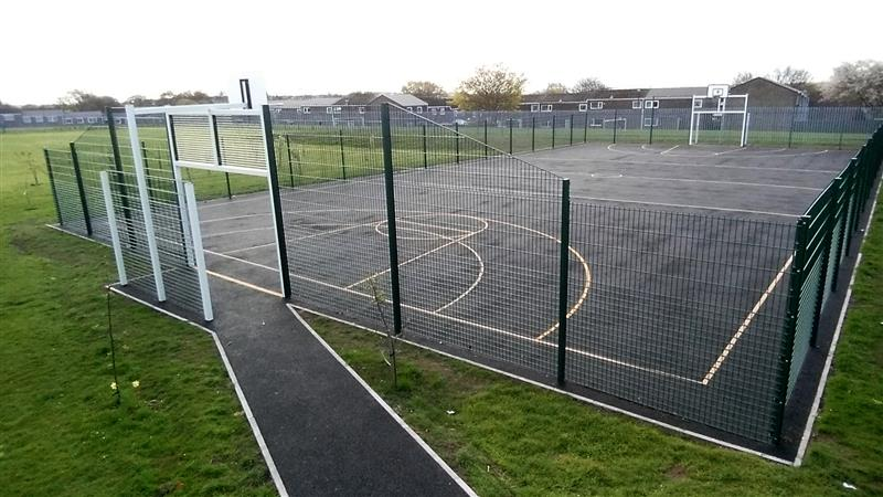 A Multi Use Games Area can facilitate active play activities for special needs children
