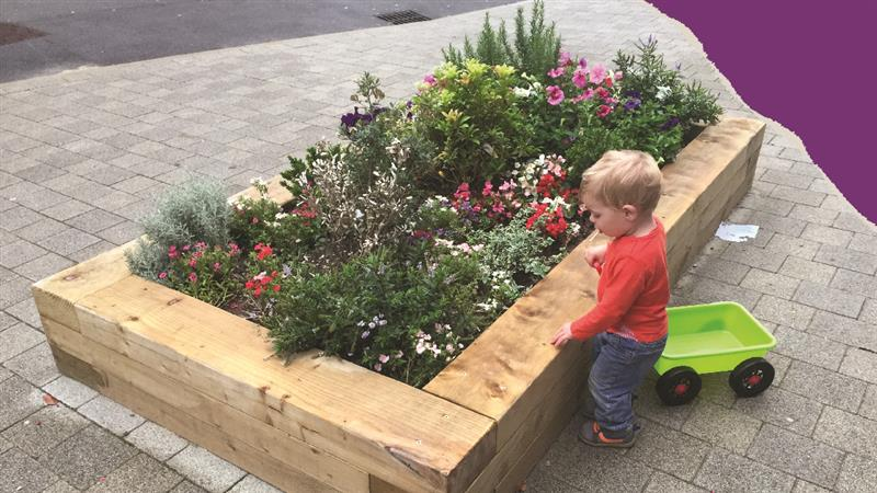 Planters create the ideal sensory play experience for children with special educational needs
