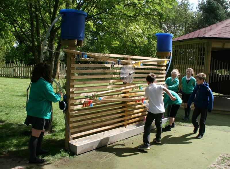 A Water Wall is ideal for sensory play on your school playground