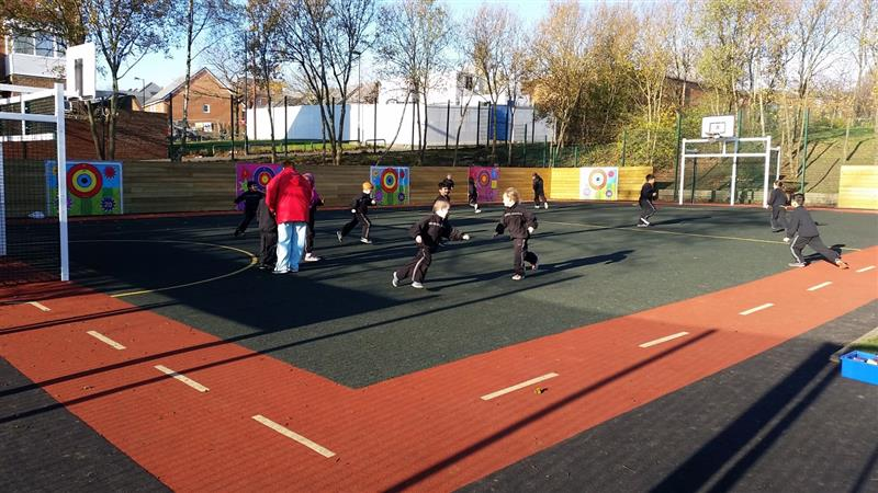 Multi Use Games Area for your school playground