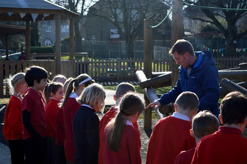 Bringing school lessons outdoors