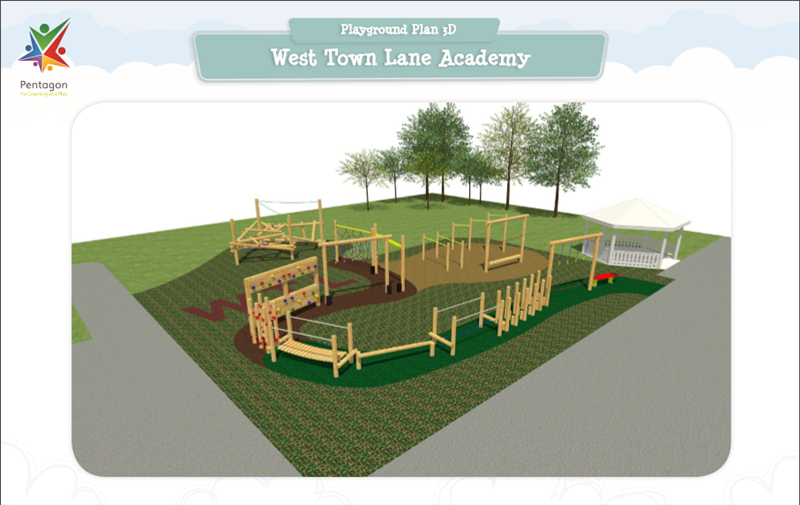 West Town Lane Adventure Playground Design