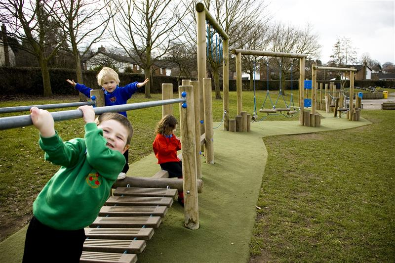 trim trail playground equipment