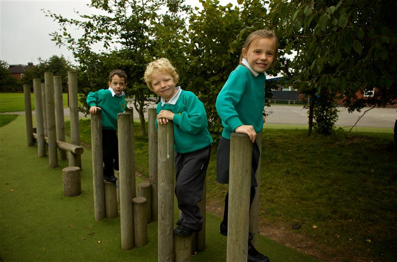 Trim Trail Playground Equipment is ideal for developing deaf children