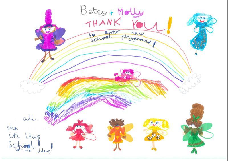 Nethton School's Thank You Letter to Pentagon Play