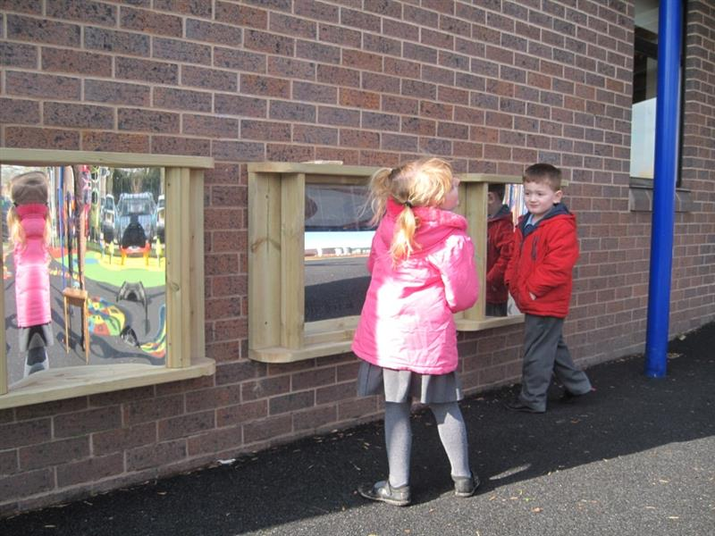 Outdoor Mirrors for playgrounds and early years