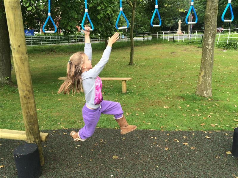 Outdoor Trapeze Swings
