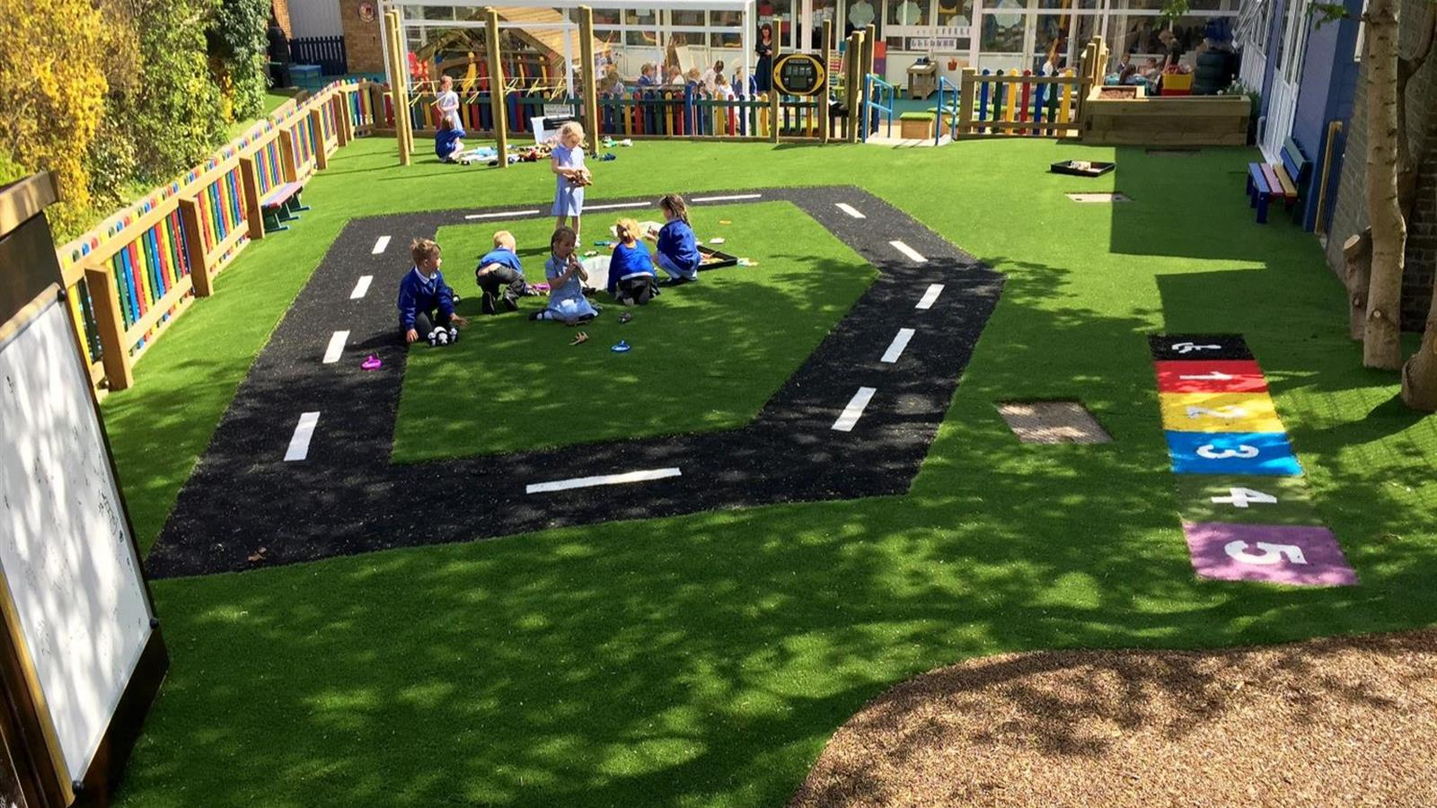 Outdoor Learning Environment EYFS