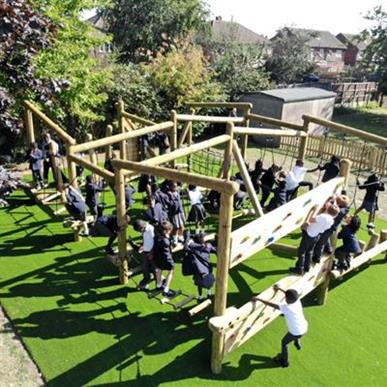 Trim Trails and Climbing Frames For Schools