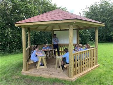 Outdoor Classrooms and Canopies For Schools