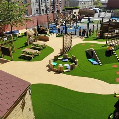 Playground Flooring, Surfacing and Landscaping